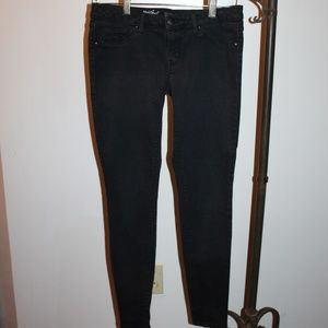 Mossimo Denim Jeggings Midrise Black